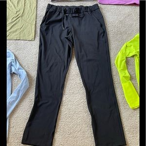 Lululemon On the Fly Work Casual Pant 10 Long Tall